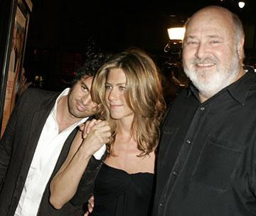 Premiere: Mark Ruffalo, Jennifer Aniston and Rob Reiner at the LA premiere of Warner Bros.' Rumor Has It... - 12/15/2005