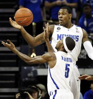 Memphis beats Rice 73-51 in game marred by fight