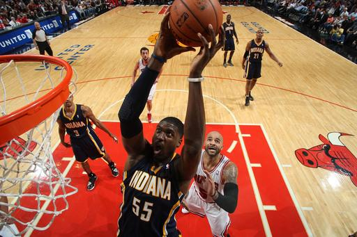 George scores 34 to lead Pacers over Bulls 80-76
