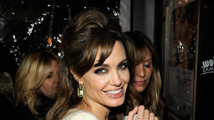 The Tourist 2010 NY Premiere Angelina Jolie
