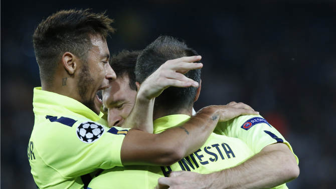 PSG beats Barcelona 3-2 in Champions League