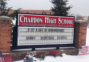Chardon High School remembers