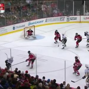 Cory Schneider Save on David Perron (07:55/3rd)