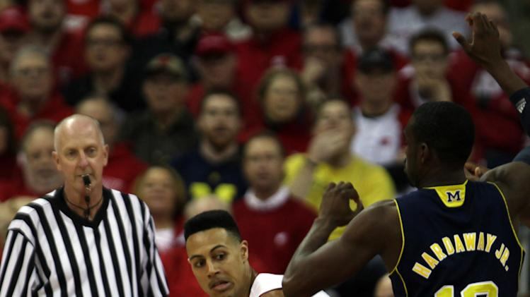 NCAA Basketball: Michigan at Wisconsin