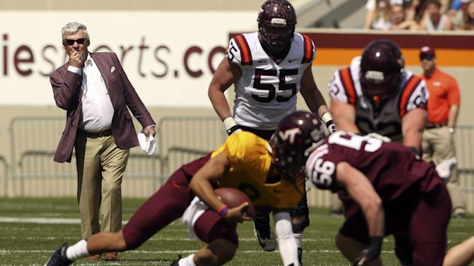 QBs take center stage in Hokies' spring game
