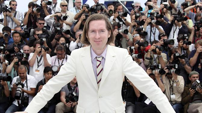 Director Wes Anderson poses during a photo call for Moonrise Kingdom at the 65th international film festival, in Cannes, southern France, Wednesday, May 16, 2012. (AP Photo/Joel Ryan)