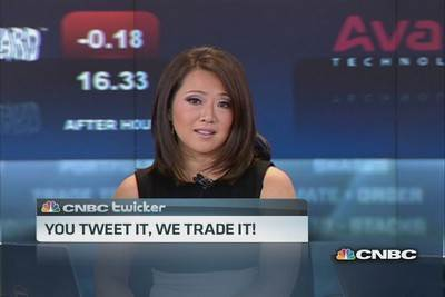 You Tweet it, we trade it!