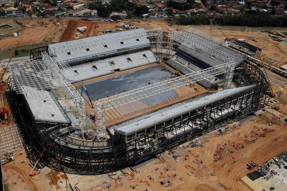 Brazil with little time to get WCup stadiums ready