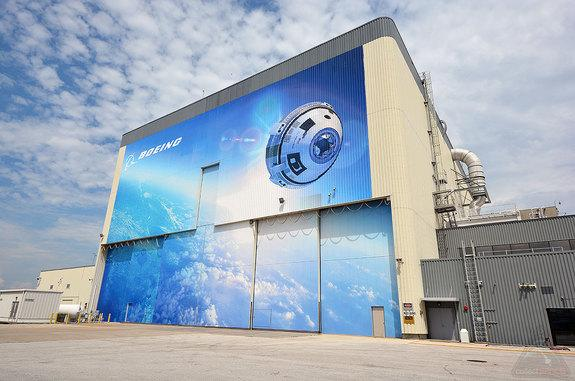 Boeing Opens Renovated Shuttle Facility for 'Starliner' Crewed Space Capsule