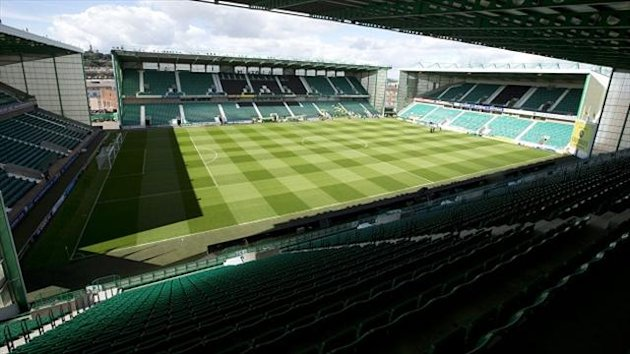 Hibernian have recorded a pre-tax profit of 100,000 pounds