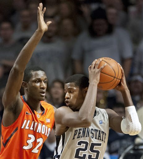 Penn State upsets No. 22 Illinois 54-52