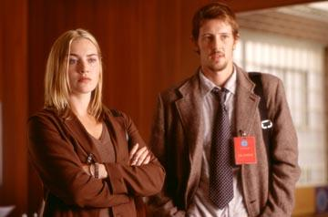 Kate Winslet and Gabriel Mann in Universal's The Life of David Gale