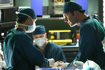 Dylan Walsh and Julian McMahon FX's Nip/Tuck