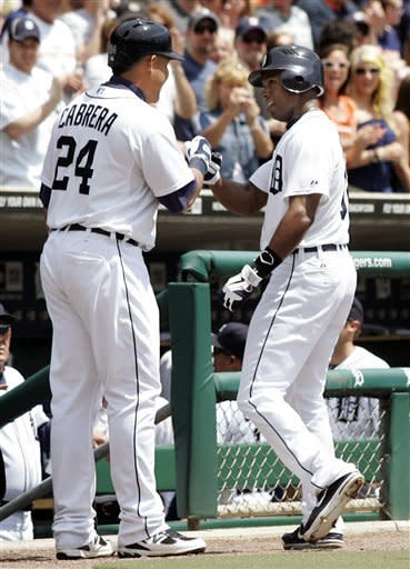 Fielder homers, Tigers beat White Sox 3-1