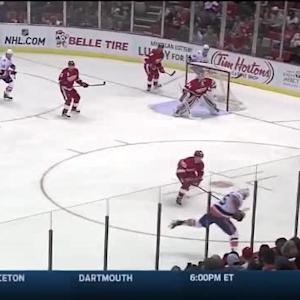 Petr Mrazek Save on Johnny Boychuk (03:13/1st)