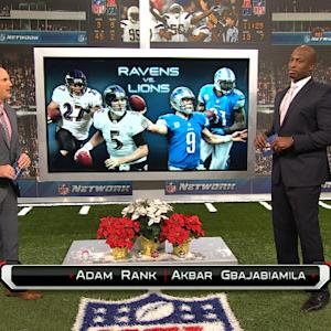 'NFL Fantasy Live': Baltimore Ravens vs. Detroit Lions preview