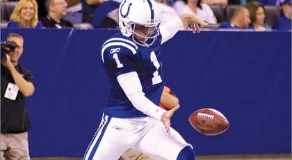 Report: Colts tag P McAfee