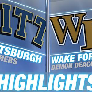Pittsburgh vs Wake Forest | 2014-15 ACC Men's Basketball Highlights