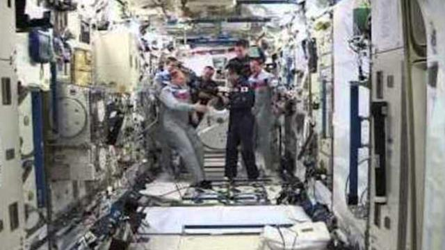 Space Station Gets New Commander
