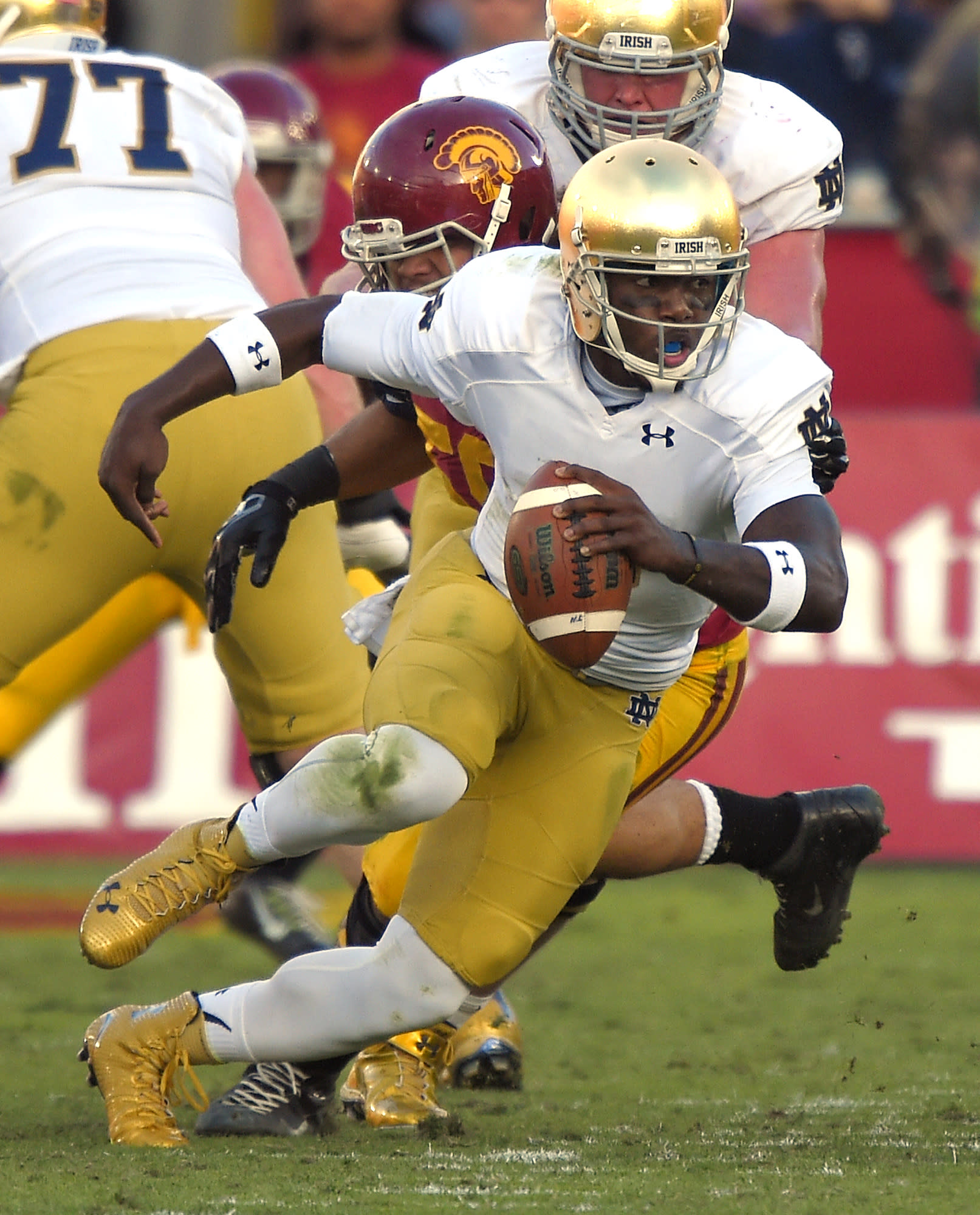 Zaire wants Notre Dame's starting quarterback spot