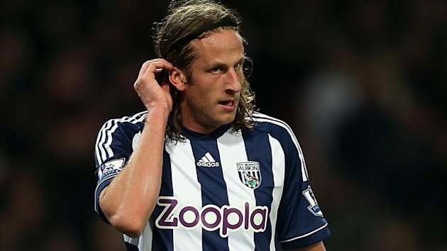 Jonas Olsson, West Bromwich Albion (PA Photos)