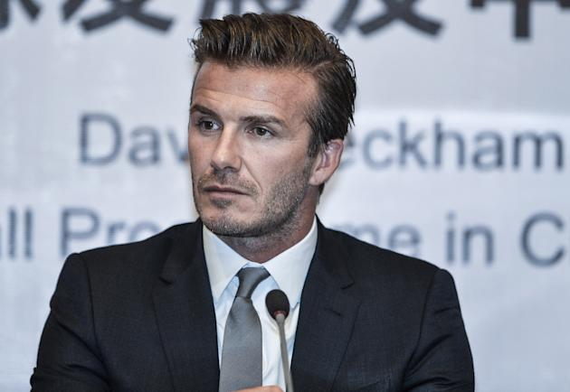 David Beckham Visits China - Day 5