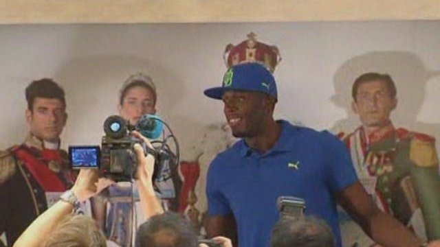 Bolt 'in good shape' ahead of Rome comeback