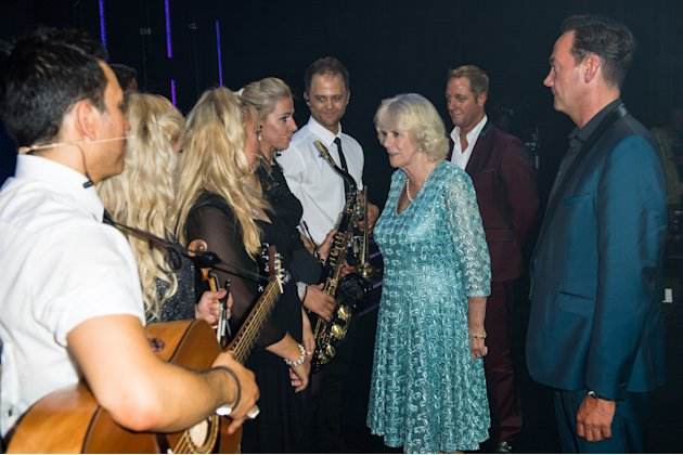 Camilla attends Strictly Confidential