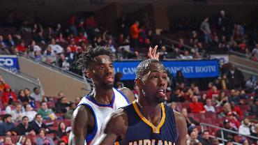 Stuckey scores 30 off bench, Pacers beat Sixers 106-95