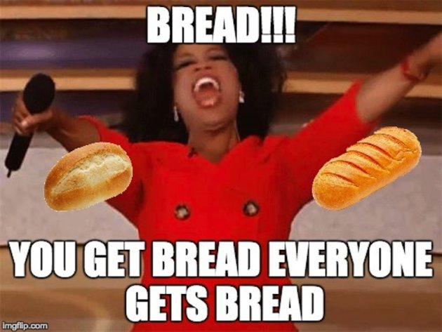 flirting meme with bread recipes for a day