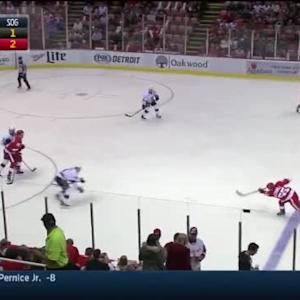 Jonathan Quick Save on Niklas Kronwall (03:07/1st)