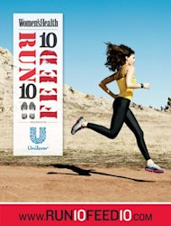The Women's Health Run 10 Feed 10 poster -- Women's Health