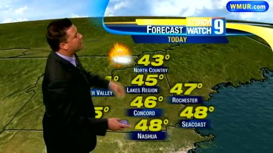 Wednesday morning forecast