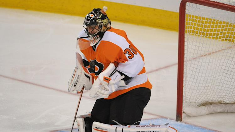 NHL: New York Rangers at Philadelphia Flyers