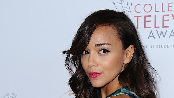 IMAGE DISTRIBUTED FOR ACADEMY OF TELEVISION ARTS & SCIENCES - Ashley Madekwe arrives at the 34th College Television Awards presented by the Academy of Television Arts & Sciences Foundation at the JW Marriott Los Angeles L.A. Live onThursday, April 25, 2013 in Los Angeles, California. (Photo by Scott Kirkland/Invision for the Academy of Television Arts & Sciences/AP Images)