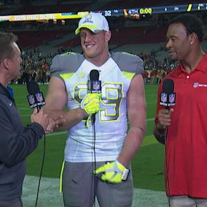 Houston Texans defensive end J.J. Watt: Pro Bowl is about having fun