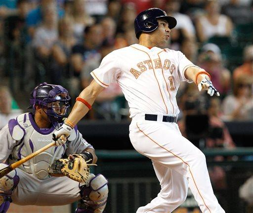 Astros outlast Rockies for 3-2 win in 12 innings