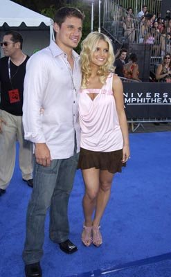 Nick Lachey, Jessica Simpson Teen Choice Awards - 7/2/2003