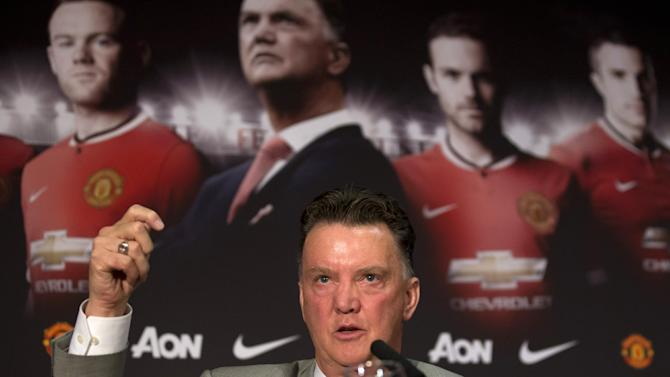Van Gaal needs time to impose philosophy at United