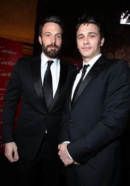 Ben Affleck, James Franco -- Getty Images