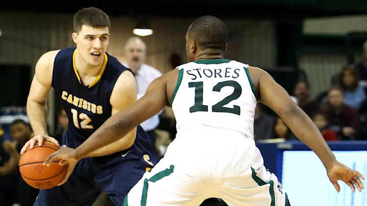 NCAA Basketball: Canisius at Manhattan