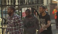 Premiership Stars Visit Muamba In Hospital