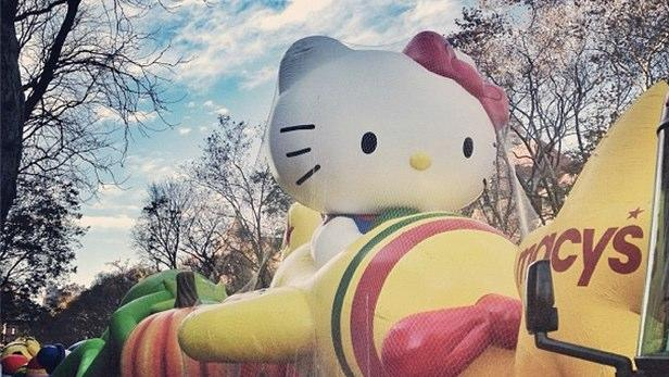 Sneak Peek at Macy's Thanksgiving Day Parade Balloons [PICS]