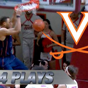 Top 4 Justin Anderson Plays for #2 Virginia vs VT