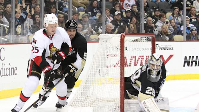 NHL: Ottawa Senators at Pittsburgh Penguins