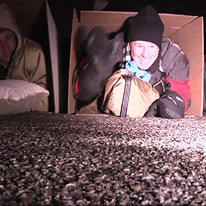 Execs Brave Cold Detroit Night for Good Cause