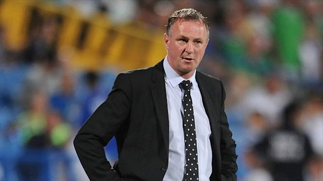 Michael O'Neill felt his side deserved a draw in Israel