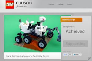 LEGO May Make Mars Rover Curiosity Toy After 10,000 Votes