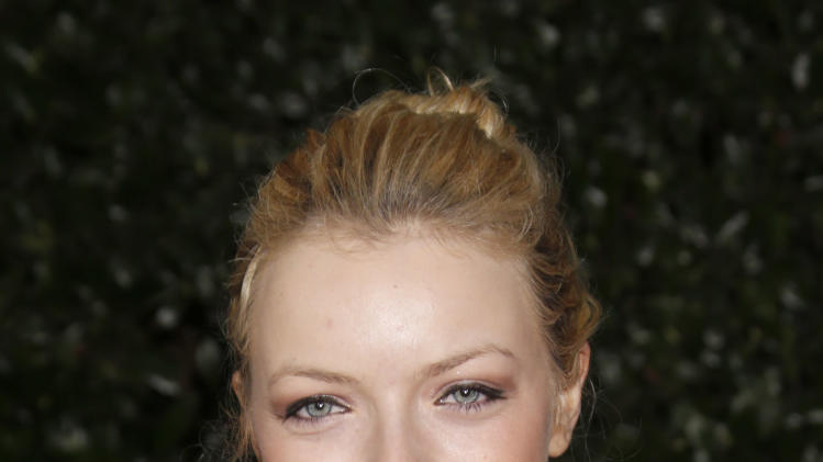 Francesca Eastwood attends the Topshop Topman LA Opening Party At Cecconi's in Los Angeles, on Wednesday, Feb. 13, 2013 in Los Angeles. (Photo by Todd Williamson/Invision for/AP)