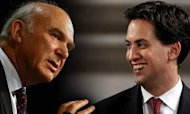 Vince Cable Defends Texts To Ed Miliband